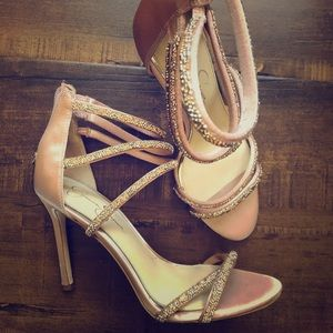Blush Formal High Heels